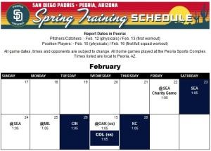 Spring training Febrero 2013